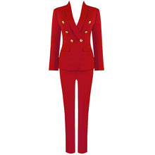 Load image into Gallery viewer, BEVV BUTTON UP SUIT SET
