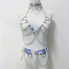 Load image into Gallery viewer, BONDII HOLO STRAP CHAIN HARNESS SET