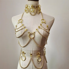 Load image into Gallery viewer, BONDII CLEAR STRAP CHAIN HARNESS SET