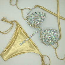 Load image into Gallery viewer, SHAWLEY CRYSTAL PENDANT BIKINI SET