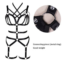 Load image into Gallery viewer, BRIA CAGED HARNESS STRAPPY LINGERIE