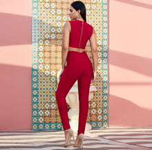 Load image into Gallery viewer, VALLEY GIRL BANDAGE PANT SET