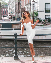 Load image into Gallery viewer, LIYAH PEARL STRAP MULTIWAY BANDAGE DRESS
