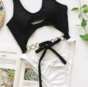 NANI HOLLOW CHAIN MONOKINI