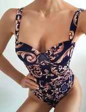 Load image into Gallery viewer, PAISLEY PRINT VINTAGE MONOKINI