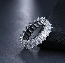 Load image into Gallery viewer, ETERNITY CRYSTAL RING BAND