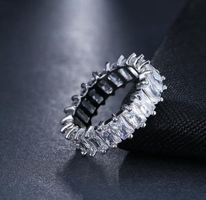 ETERNITY CRYSTAL RING BAND