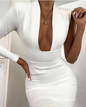 Load image into Gallery viewer, GABI ONE ARM BANDAGE DRESS