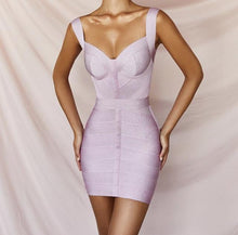 Load image into Gallery viewer, MOLLY MINI BANDAGE DRESS