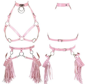 TEEM HOLLOW HARNESS TASSEL SET