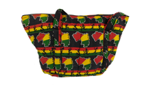 Load image into Gallery viewer, Dancing African Ankara Pattern Shoulder Bag