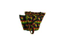 Load image into Gallery viewer, Dancing African Ankara Pattern Shoulder Bag Medium and Large Combo