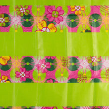 Load image into Gallery viewer, Green Flower Garden Traditional African Head Wrap