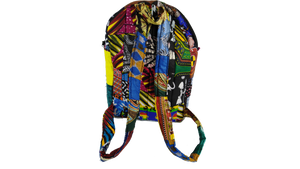 African Multi Pattern Ankara Bag Medium