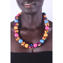 Load image into Gallery viewer, African Bubble Gum Special Beads Necklace