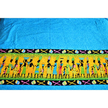 Load image into Gallery viewer, Sexy Light Blue Traditional Village Cotton Wrap Around