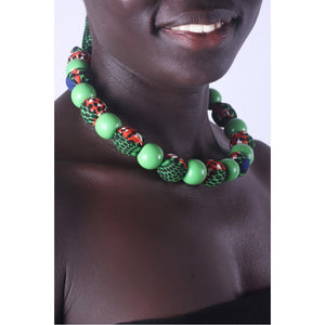 African Forest Special Beads Necklace