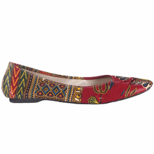 Load image into Gallery viewer, Cool African Pattern Print Flats