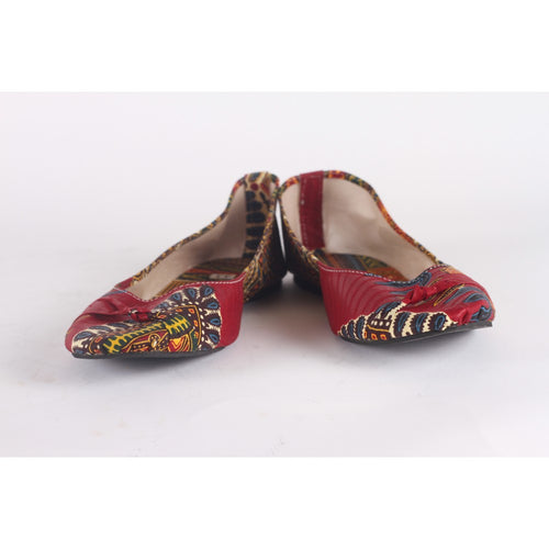 Cool African Pattern Print Flats