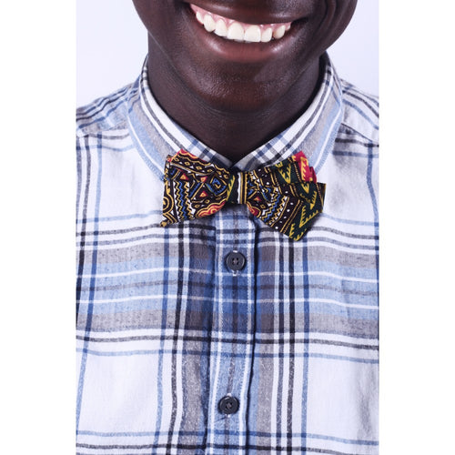 African Pattern Men Bow Tie