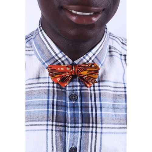 African Sunset Men Bow tie