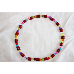 Traditional Waist Beads Red