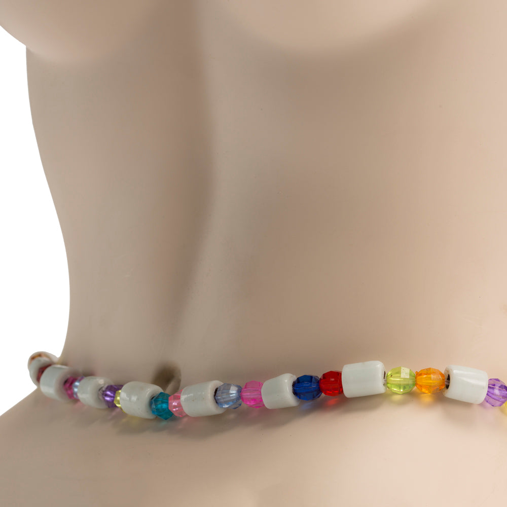 Traditional Waist Beads White