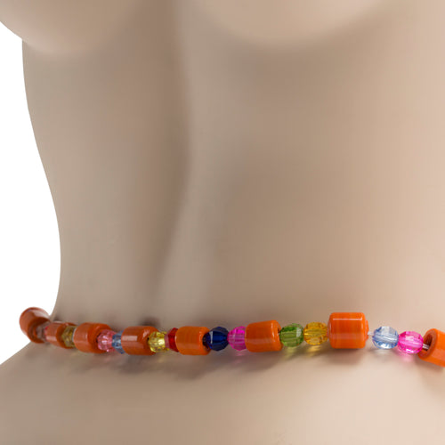 Traditional Waist Beads Orange