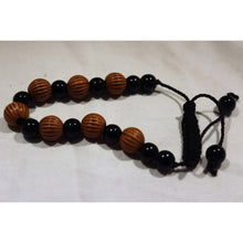 Load image into Gallery viewer, African Black & Brown Beads Bracelet