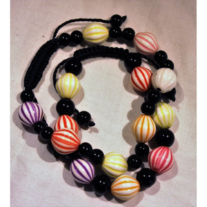 African Candy Beads Bracelet