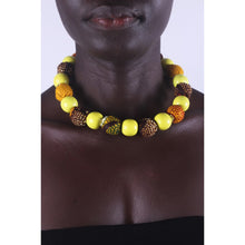 Load image into Gallery viewer, African Sun Flower Special Beads Necklace