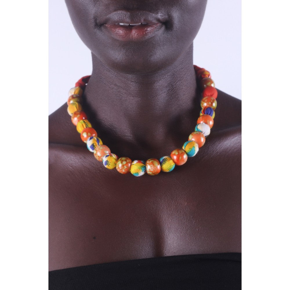 African Tropical Special Beads Necklace