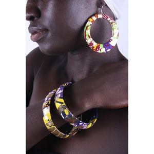African Festival Earrings & Bracelet Combo