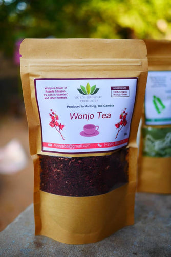 African 100% Pure Organic Dehydrated Hibiscus