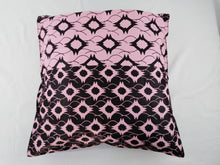 Load image into Gallery viewer, Small Pink & Black Pillow Cases Set of 2