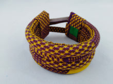 Load image into Gallery viewer, Cool Choker African Ankara Wax Print Necklace & Bracelet Combo