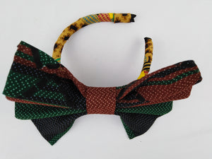 African Print Colorful Mixed Pattern Ankara Hair Band