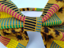 Load image into Gallery viewer, African Print Colorful Multicolour Pattern Ankara Hair Band