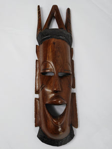 African Mandinka King Carved Mask
