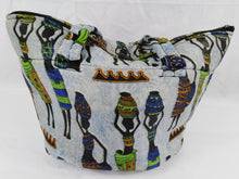 Load image into Gallery viewer, African Women Ankara Pattern Shoulder Bag Medium