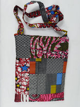Load image into Gallery viewer, African Pink & Mix Ankara Pattern Pouch