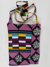 Load image into Gallery viewer, African Flower & Mix Ankara Pattern Pouch