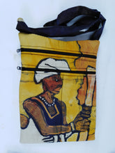 Load image into Gallery viewer, African Local Woman Ankara Pattern Pouch