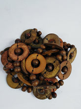 Load image into Gallery viewer, African |Coconut Double Color Necklace