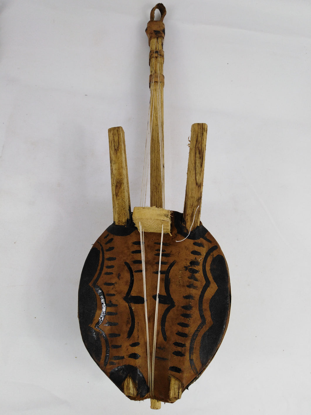 African Mini Kora Musical Instrument
