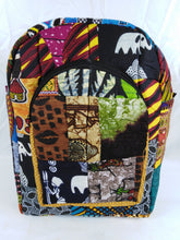 Load image into Gallery viewer, African Multi Pattern Ankara Bag Medium