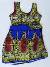 Load image into Gallery viewer, African Print Multi Pattern Kids Dress