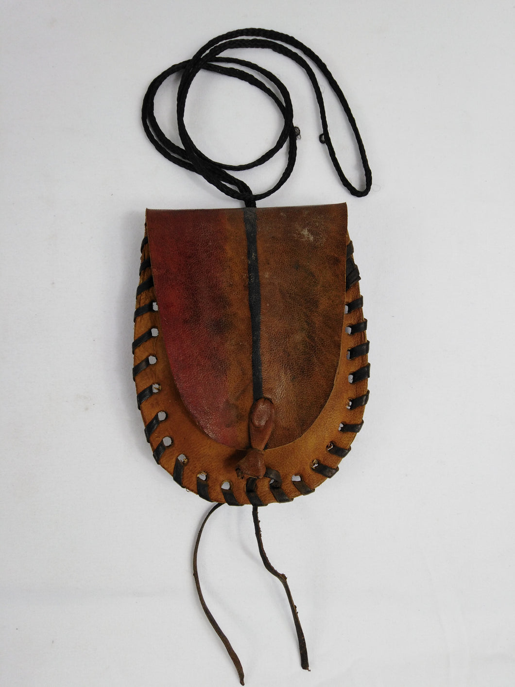 African Authentic Leather Pouch