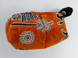 African Authentic Ankara Palm Tree Pouch
