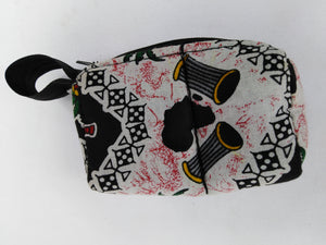 African Authentic Ankara Djembe Pouch